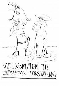 Tegning: Jens Hage.