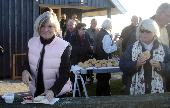 Gerda Sonne - formand for Opslagstavleudvalget. (Foto: Jesper Alstrøm).