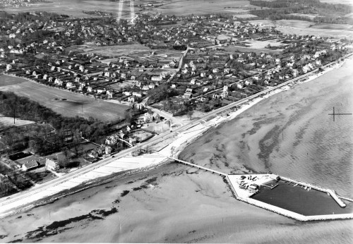 Øhavnen, vinter 1956